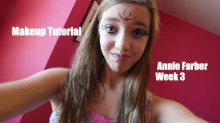 Fancy Makeup Tutorial! | Annie Farber | Week 3 |