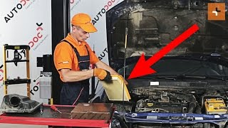 Auto Ersatz Luftfilter beim OPEL ASTRA G Hatchback (F48_, F08_) montieren: kostenlose Video