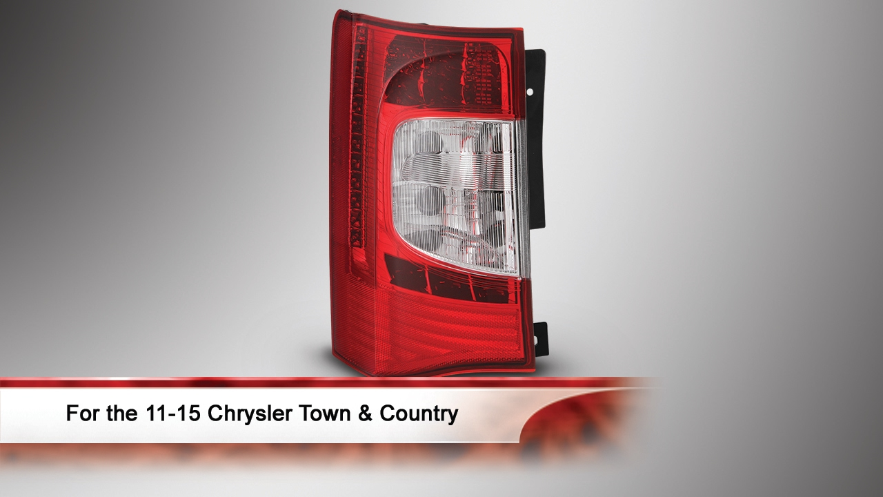 11 15 Chrysler Town Country Oem Style Led Tail Light