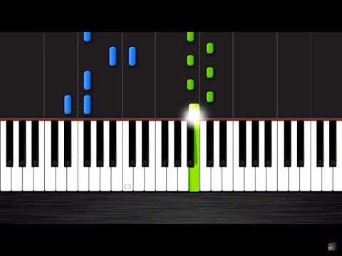 ALAN WALKER FADED PIANO EASY
