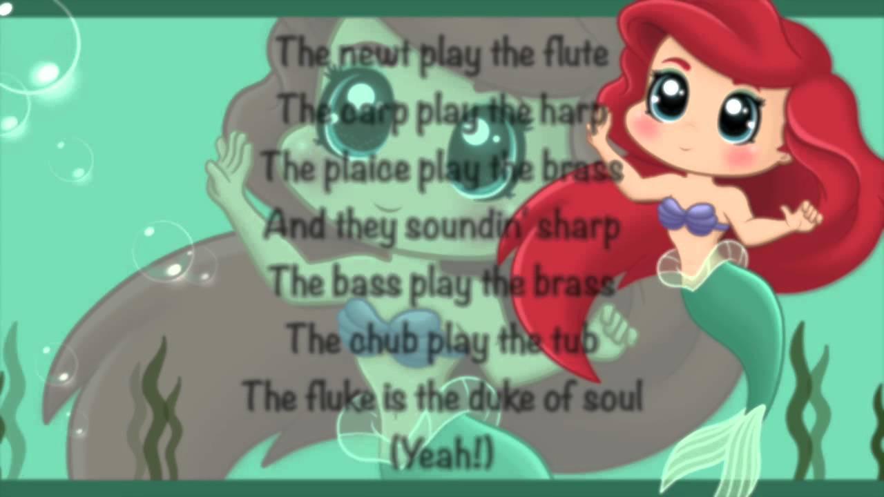 little mermaid lyrics - 1280×720
