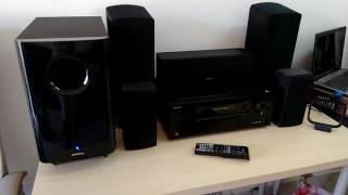 testeando home cinema onkyo ht s5805
