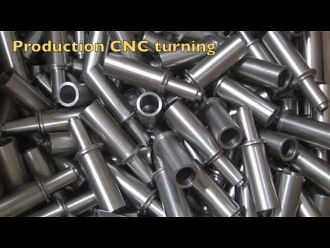 Production CNC Machining Shenzhen Metal Parts
