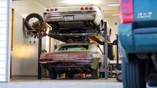 Dream Garage: Direct Lift Pro Park 8S 4 Post Car Lift