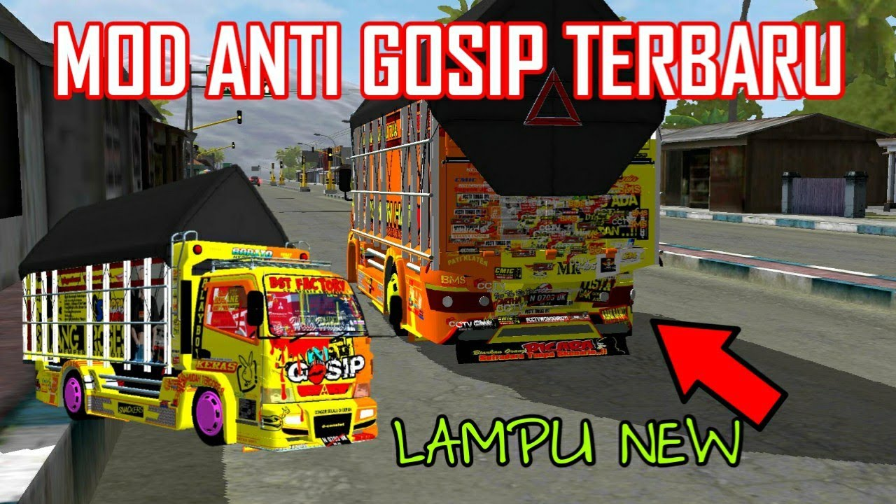 Mod Anti Gosip Termantul Share Mod Bussid Bus Simulator Indonesia Youtube