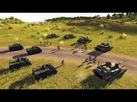 FINAL DEFENSE of HIGH GROUND Against INVASION | Cold War Mod | Men of War: Assault Squad 2 Gameplay