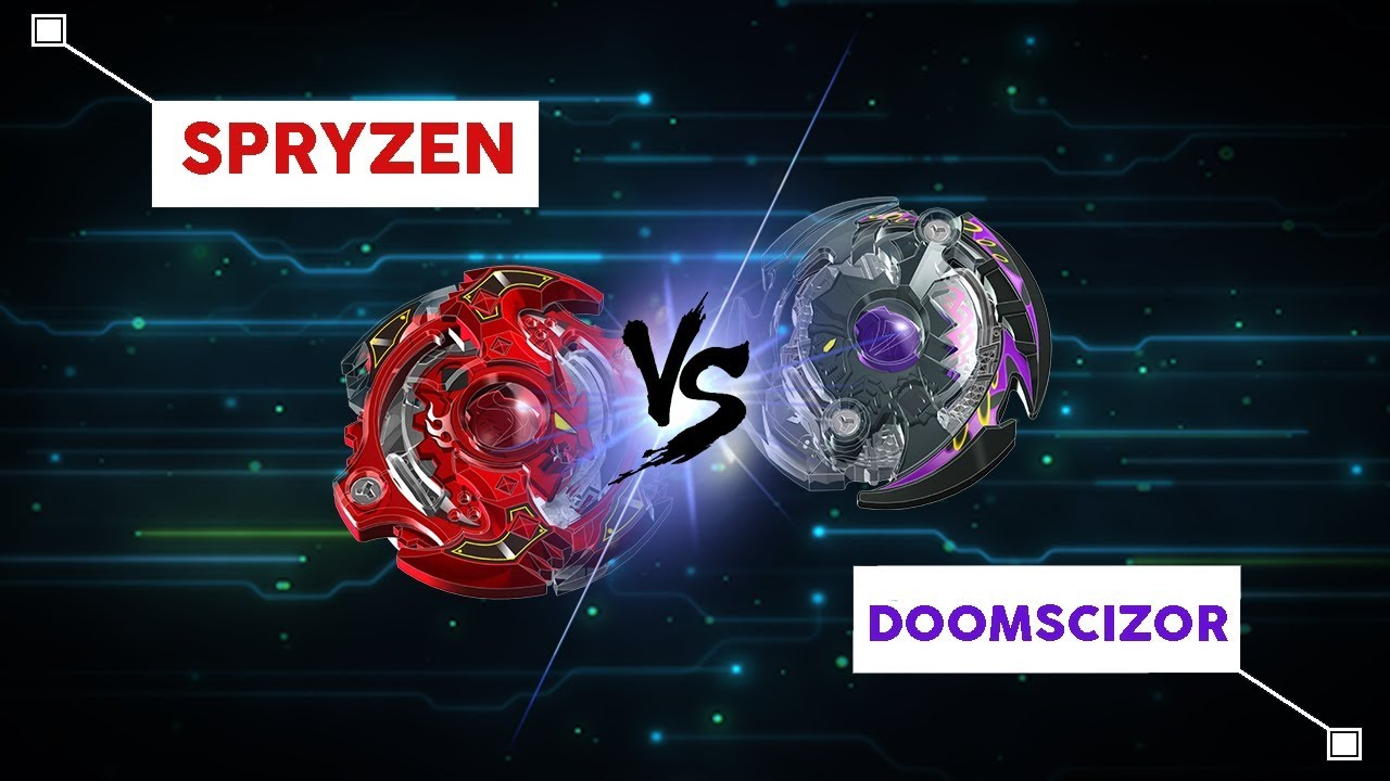 combat de toupie beyblade burst sryzen contre doomscizor youtube. Black Bedroom Furniture Sets. Home Design Ideas