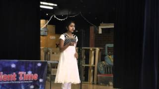 KAGW Talent Time Competition 2014 - Poornima