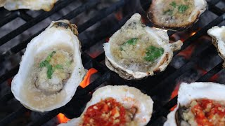 Grilled Oysters on the Half Shell [蒜蓉烤生蚝]
