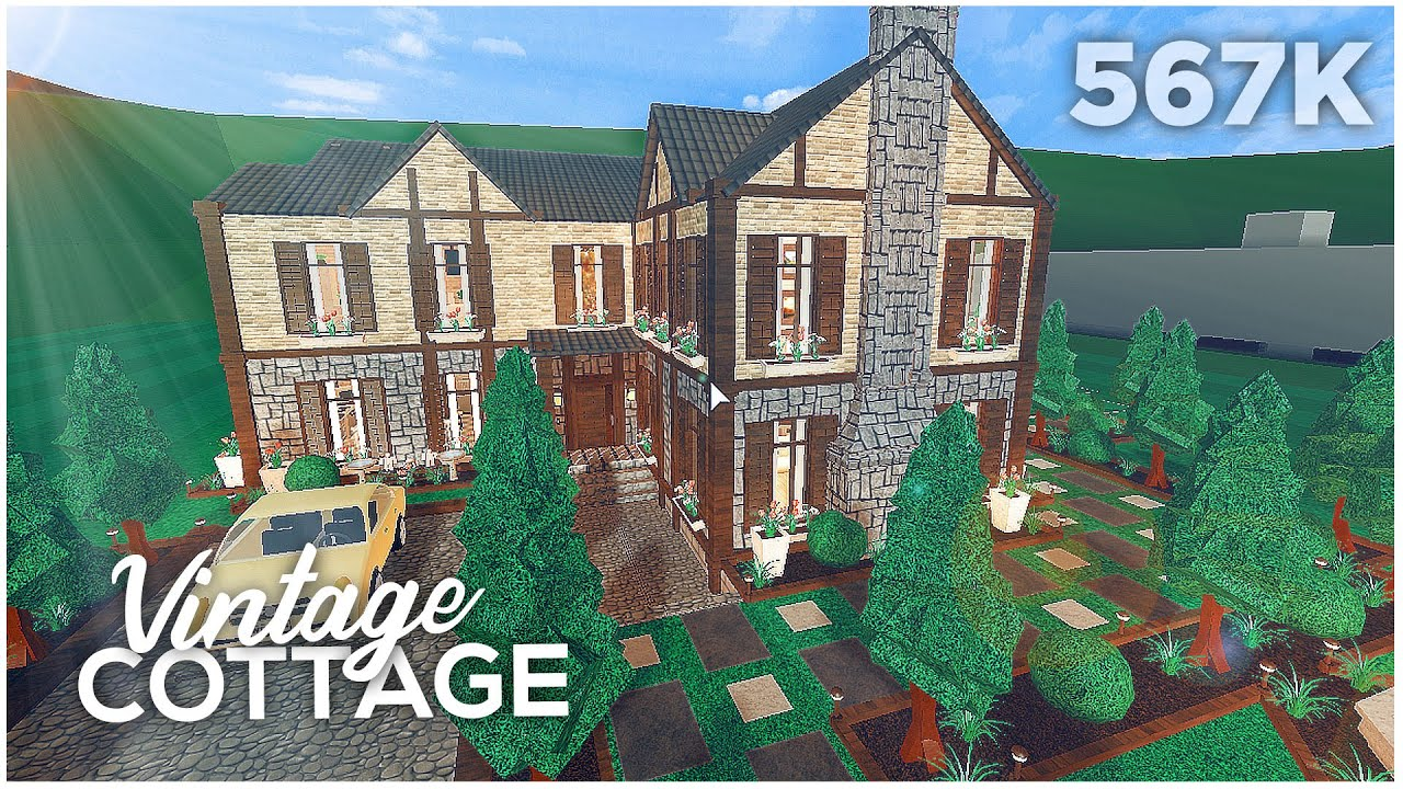 Bloxburg Vintage Cottage Tour Youtube There are a few options for every price range, including mansions, modern, and one story houses. bloxburg vintage cottage tour