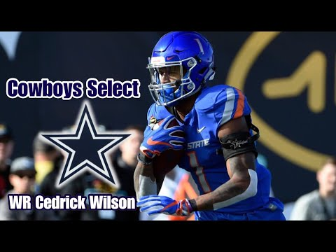 🔥Cowboys Select WR Cedrick Wilson with the 208th Overall Pick 🔥