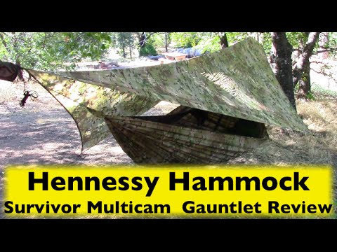 hennessy hammock survivor multicam camo zip  gauntlet review wingman115 hennessy hammock survivor multicam camo zip  gauntlet review      rh   youtube