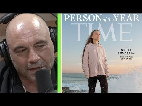 Joe Rogan on Greta Thunberg Being Named Time's Person of the Year