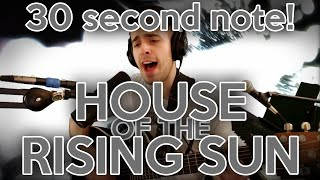 Twitch streamer sings 30 second note! House of the Rising Sun Cover!