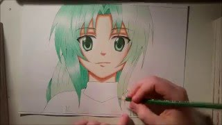 Mion Sonozaki ~Speed Drawing~ [ Higurashi no Naku Koro ni ]