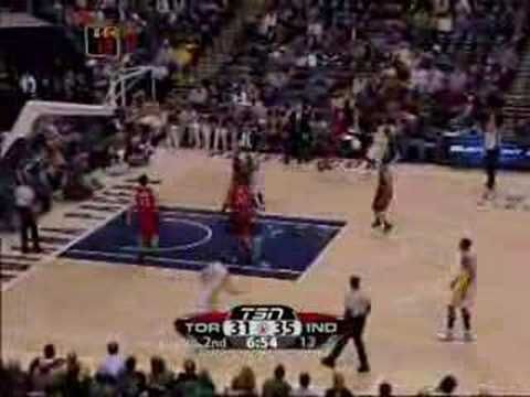 Toronto Raptors vs Indiana Pacers Feb.25/08
