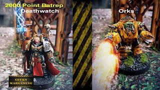 Video Deathwatch Vs Orks Warhammer 40K 7th Edition Battle Report download MP3, 3GP, MP4, WEBM, AVI, FLV Juni 2017