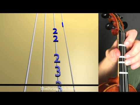 How to Play O Come Little Children on the Violin