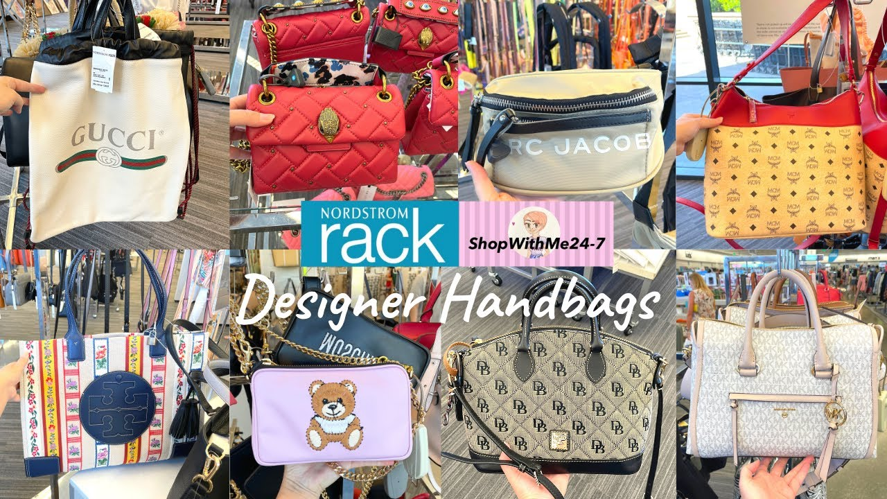 ✨NORDSTROM RACK Shop With Me✨ Designer Handbags | Moschino/Tory Burch/Marc Jacobs | Purse Shopping❤️