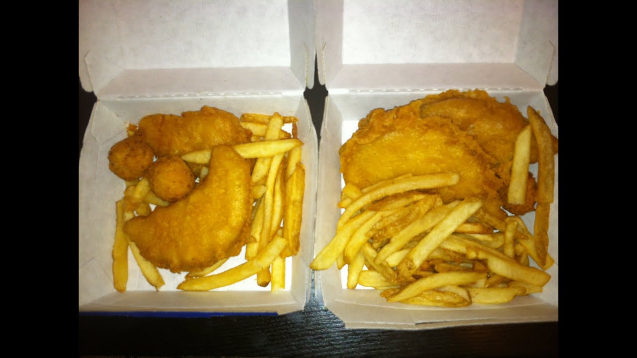 Long john silver 39 s 2 for 10 chicken fish review youtube for Long john silver s fish and chips