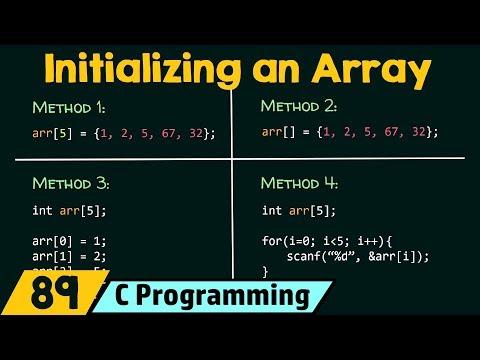 Initializing an Array