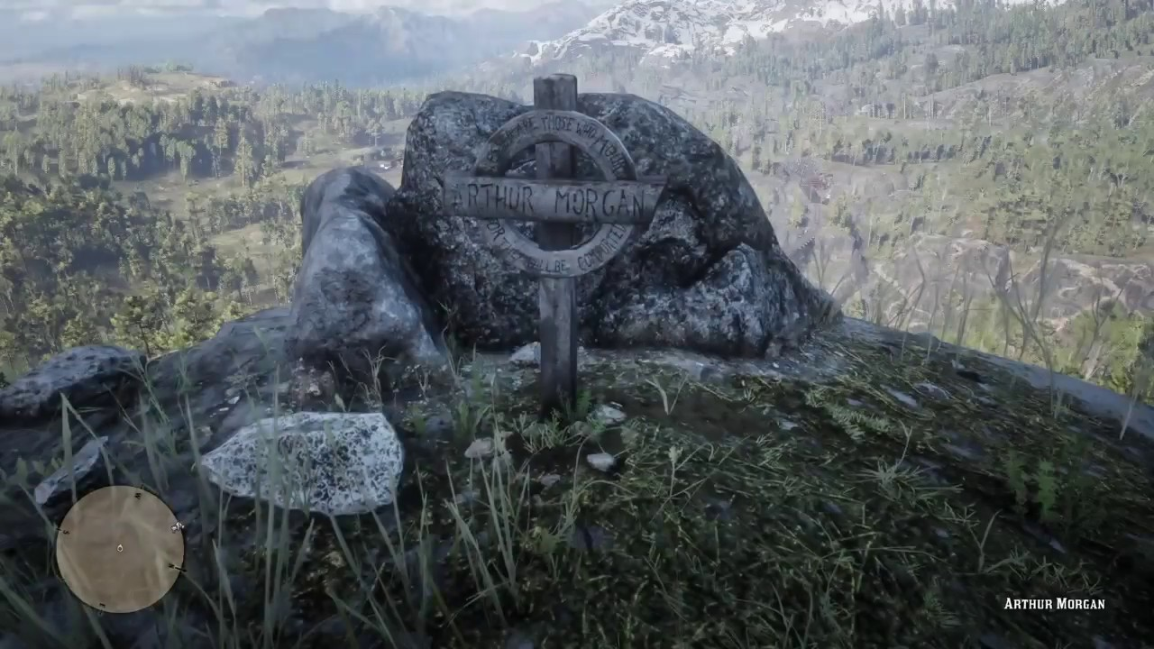 red dead redemption 2 arthur s grave location youtube