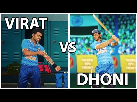 Virat Kohli Vs MS Dhoni Rap Battle | Shudh...