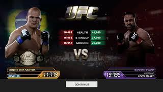 EA Sports UFC | Junior Dos Santos Vs Rashad Evans | Android Gameplay