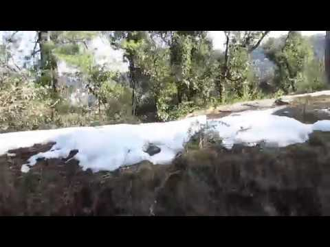 Shivalik Super Deluxe Express amid traces of SNOW! PART-1