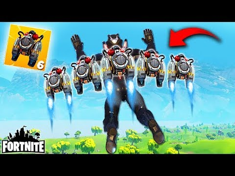6 JETPACKS AT THE SAME TIME?! - Fortnite Funny Fails and WTF Moments! #208 (Daily Moments)