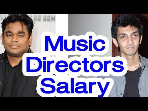 இசையமைப்பாளர்களின் சம்பளம் | Music Directors Salary | Tamil cinema news | Cinerockz