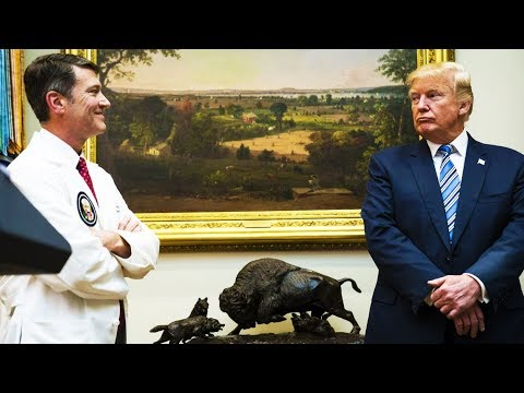 """""""The Candyman"""" Trump Doctor Allegedly Loves Handing Out Pills, Heavy Drinking"""