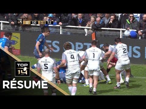 TOP 14 - Résumé Castres-Toulouse: 28-23 - J23 - Saison 2017/2018