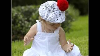 Красивые шапочки для детей. Вязанные шапочки для детей