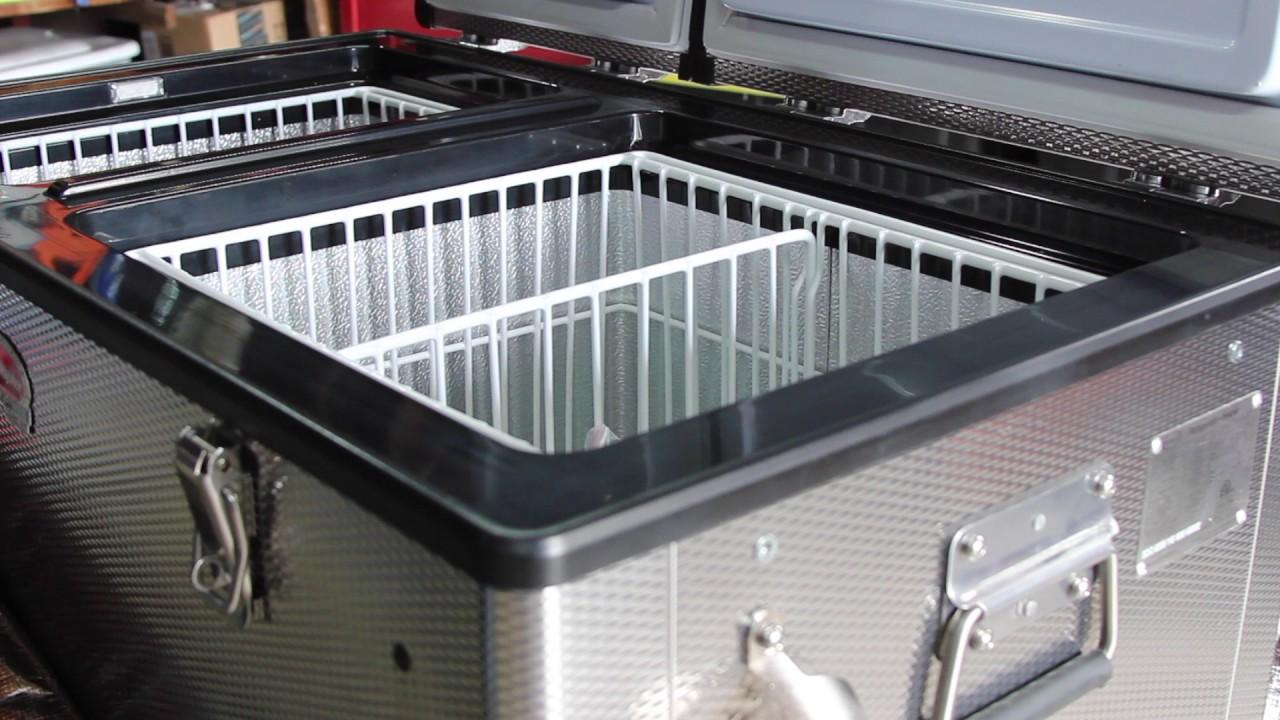 SnoMaster 82D/66L Fridge/Freezer Combo Unboxing