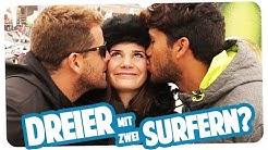 Joyce sucht nen heißen Surferboy fürs Date   STREETCOMEDY beim Windsurf Weltcup   Joyce
