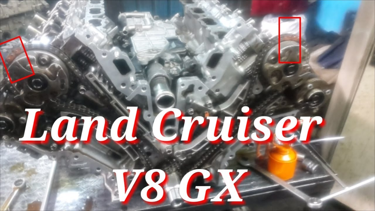 land cruiser 2012 v8 gx engine timing chain how to time toyota 3ur fe tundra sequoia v8 timingchains Timing Belt Diagram