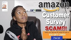 Amazon Customer Survey Scam