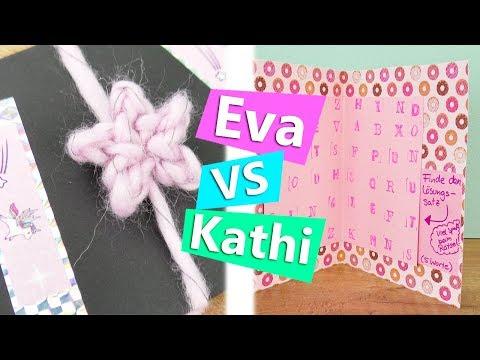 DIY Inspiration Challenge #145   Überraschung für BFF   Geschenke für beste Freundin   Kathi & Eva