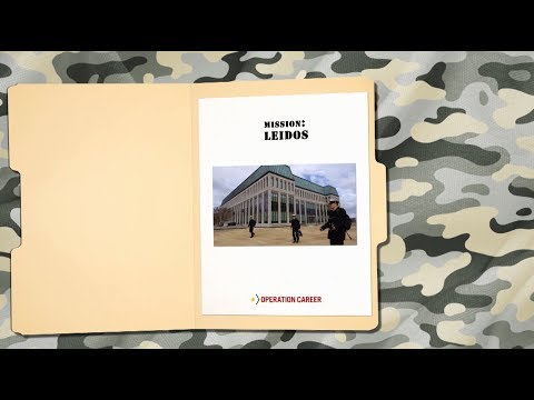 Military Makeover - Operation Career: Leidos