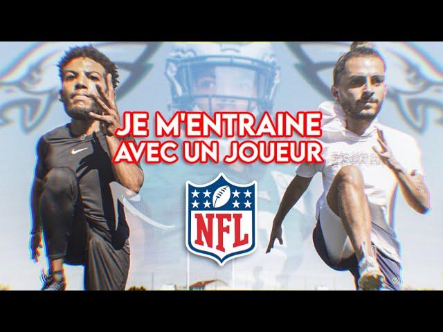 JE M'ENTRAINE AVEC UN JOUEUR NFL 🏈  feat. Anthony Mahoungou