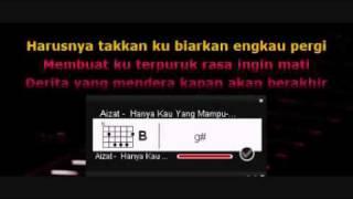 Aizat   Hanya Kau Yang Mampu Akustik dgn Kord + Lirik