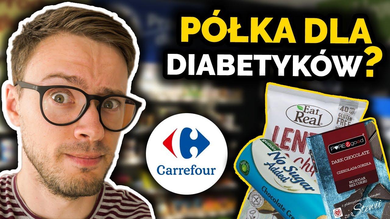 Zdrowe jedzenie dla cukrzyków w Carrefour | Reklama, czy faktycznie zdrowe przekąski? | Nie słodzę