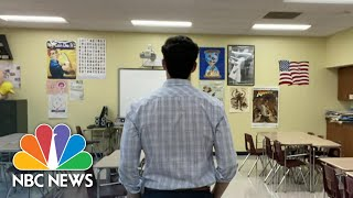 Educators Speak Out About Mental Health Toll Of Teaching Through Pandemic | NBC Nightly News