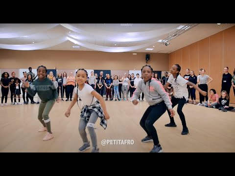 Petit Afro Presents - AfroDance || One Man Workshop Part 1 |