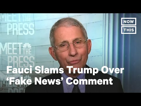 Dr. Fauci Claps Back at Trump | NowThis