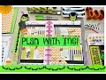 Plan with me   Halloween Theme   Happy Planner 2016