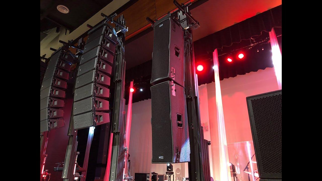 RCF HDL 6-A vs TTL 6-A loudspeaker shoot out