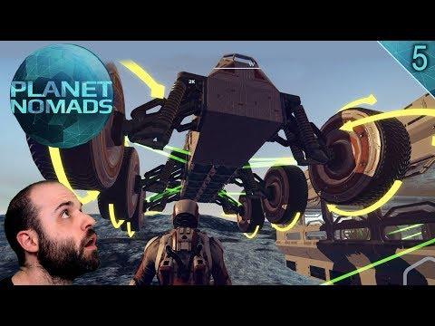 PLANET NOMADS #5 | BASE AVANZADA Y FIN DE MUNDO! | Gameplay Español