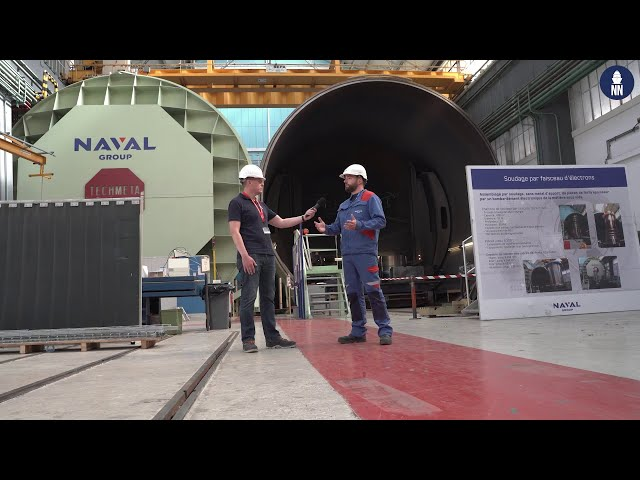Naval Group's Propulsion Systems: Welding for nuclear propulsion systems